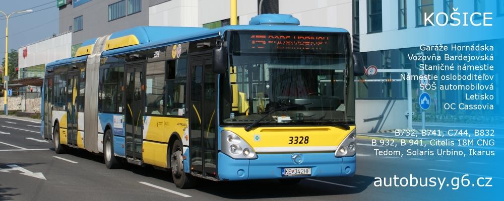 Autobusy v Praze a dalších městech